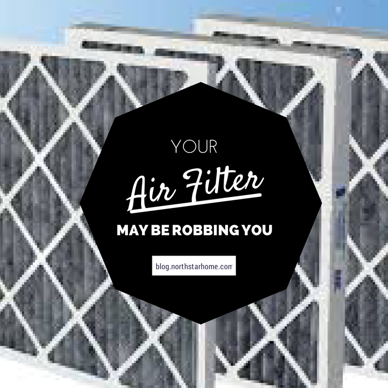 Your Air Filter May be Robbing You