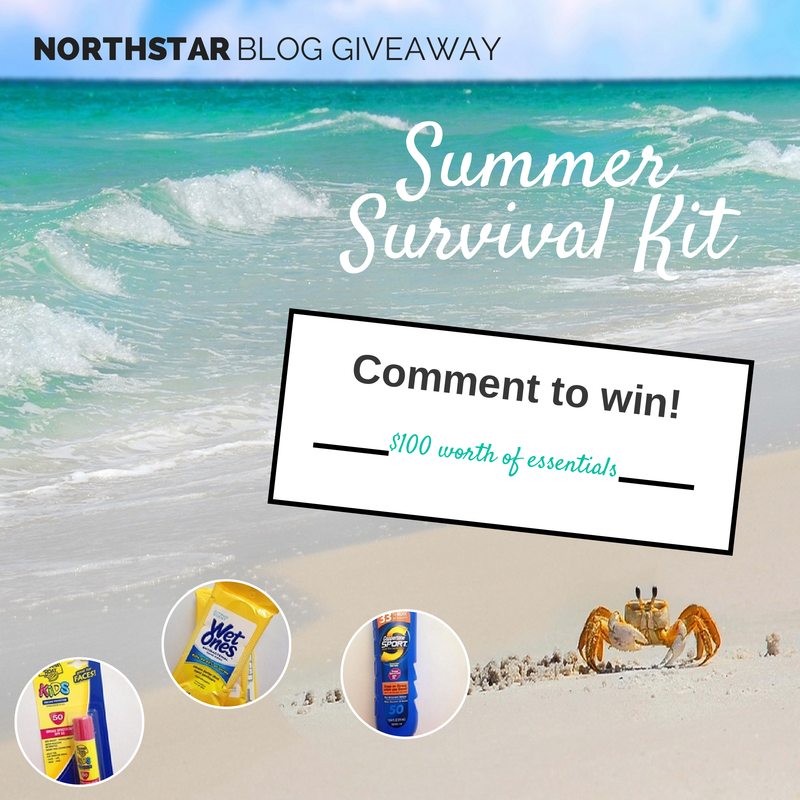 NorthStar Alarm Summer Survival Kit Giveaway
