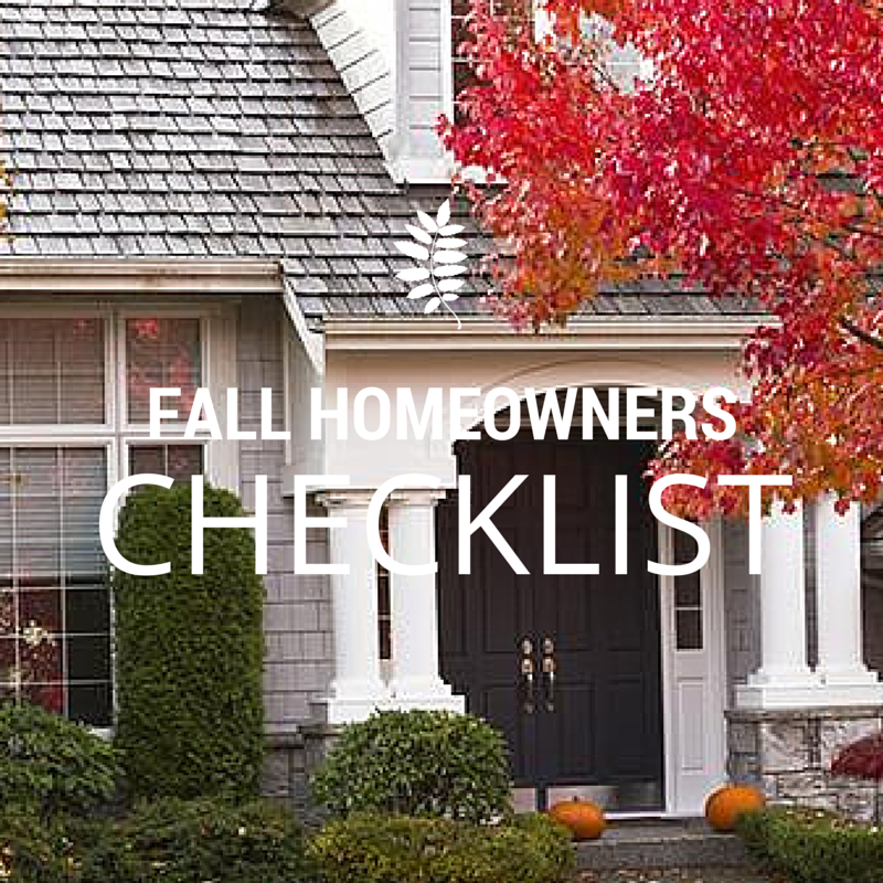 8 Fall Home Maintenance Necessities