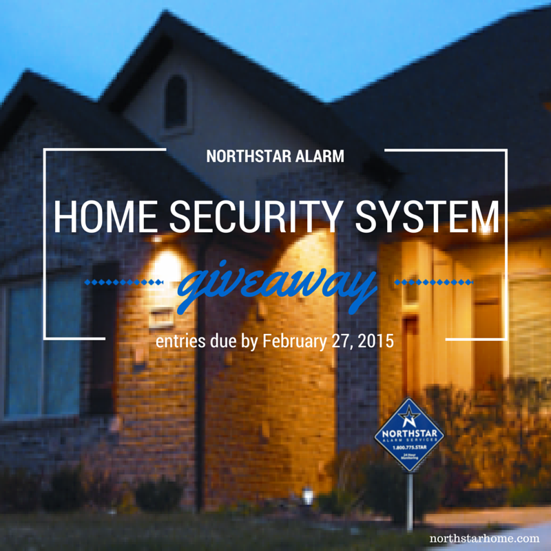Home Security System Giveaway Form